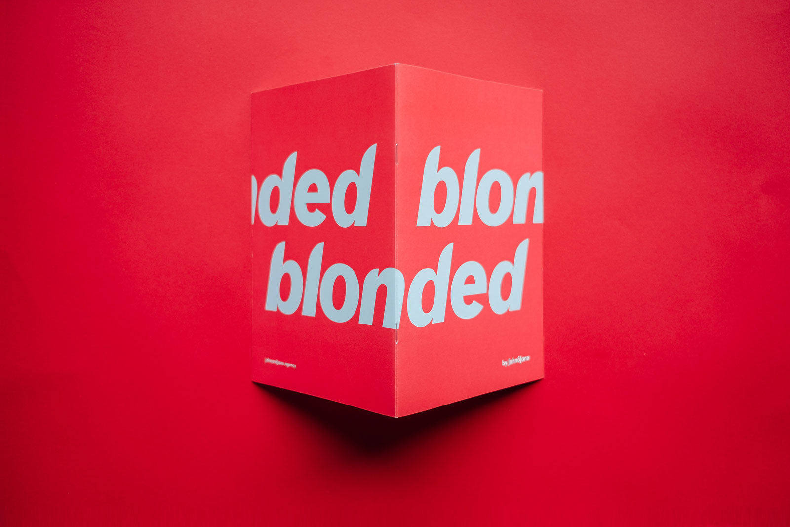 Frank Ocean Blonde Typography Type Blonded Graphic Design