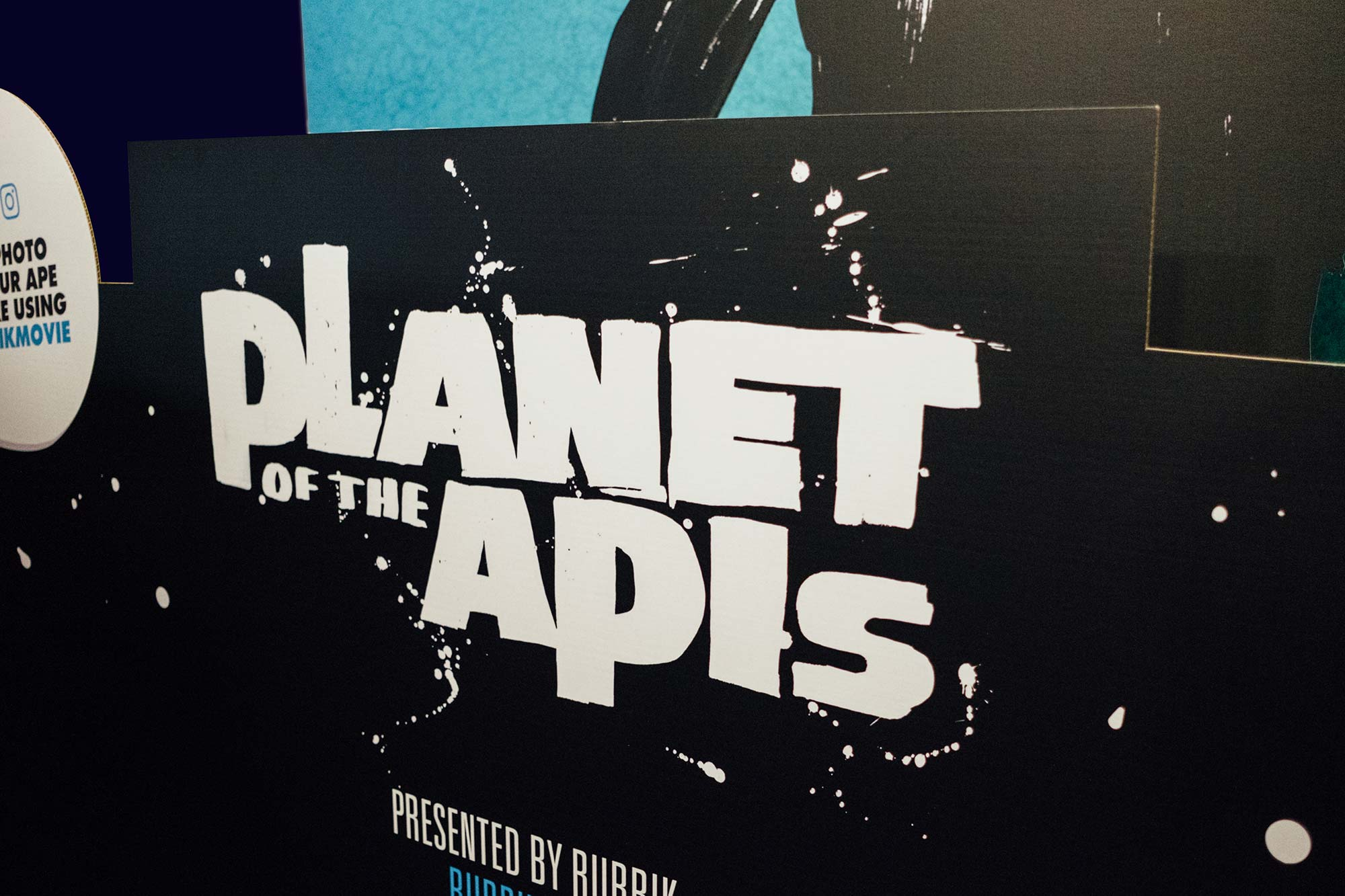 Planet of the Apes Typography