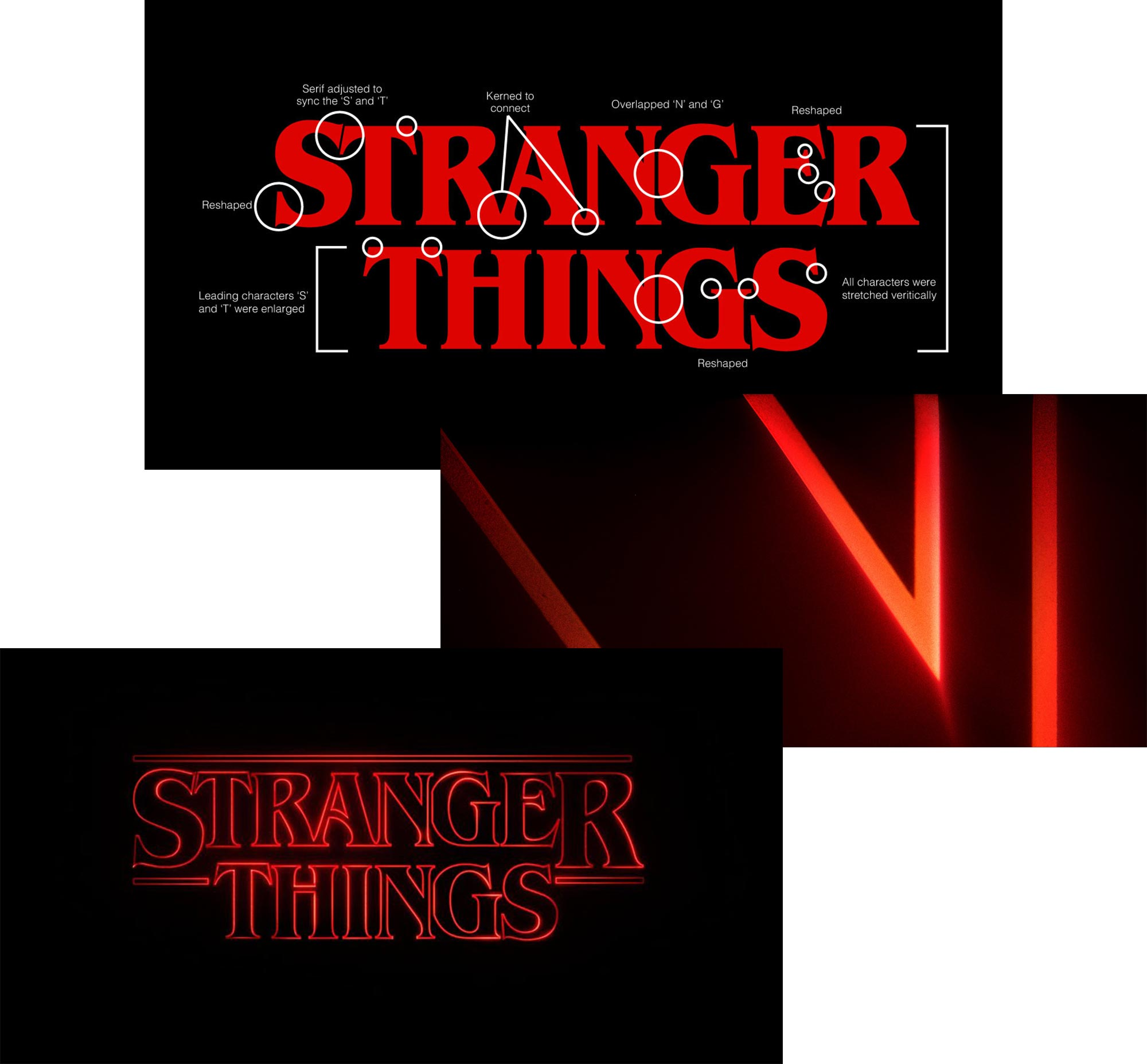Stranger Things Logo Logotype Wordmark Netflix Typography Type ITC Ed Benguiat Monotype