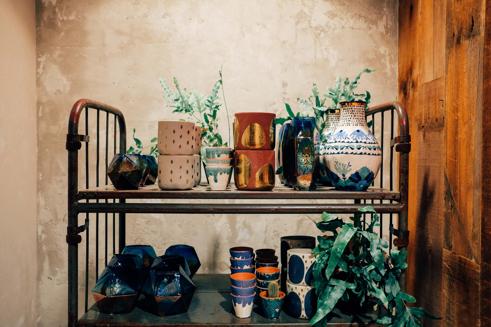 Pots Interior Photography