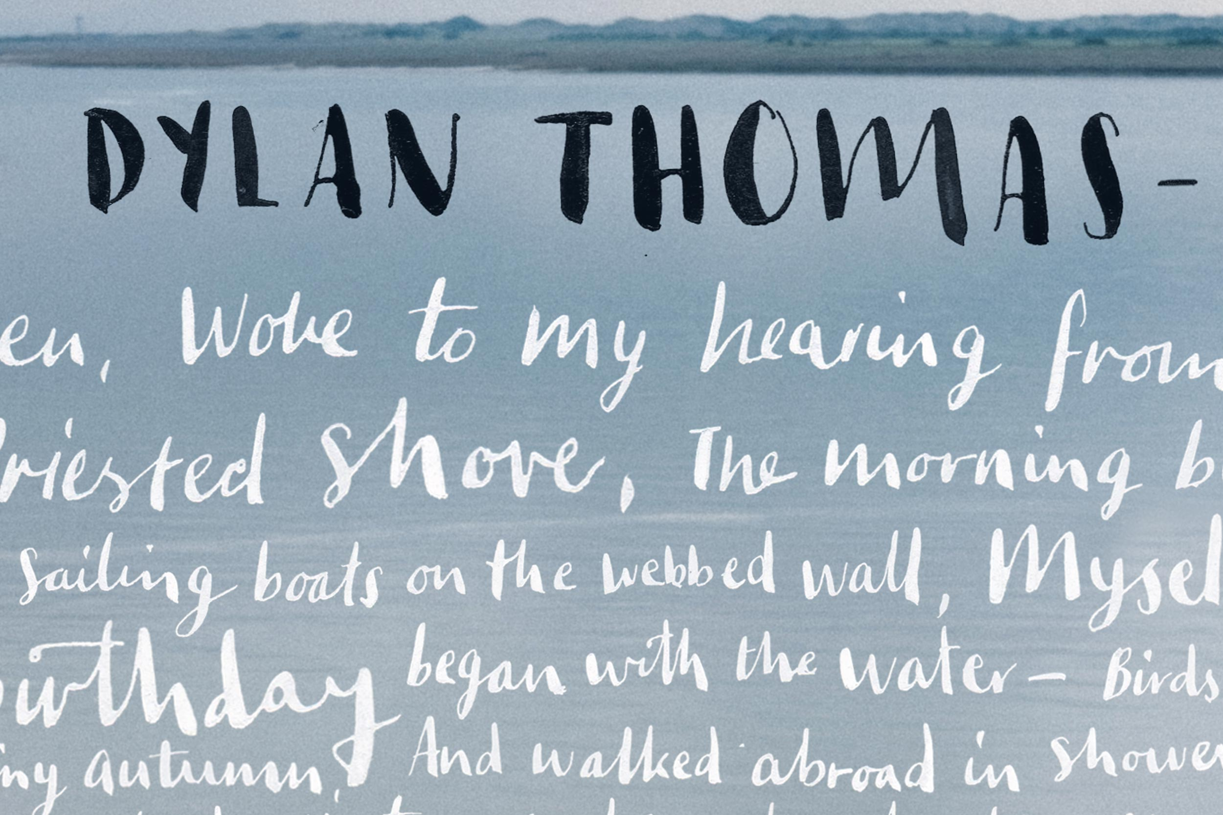 dylan thomas poem in october summary