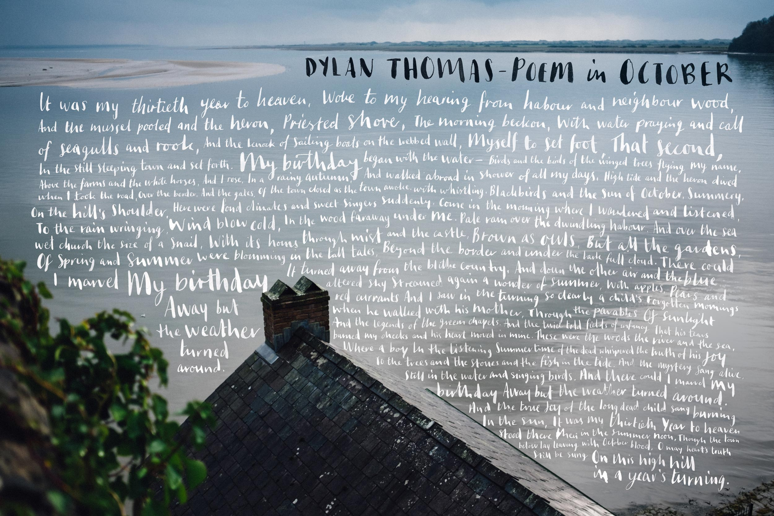 summary of the poem fern hill by dylan thomas