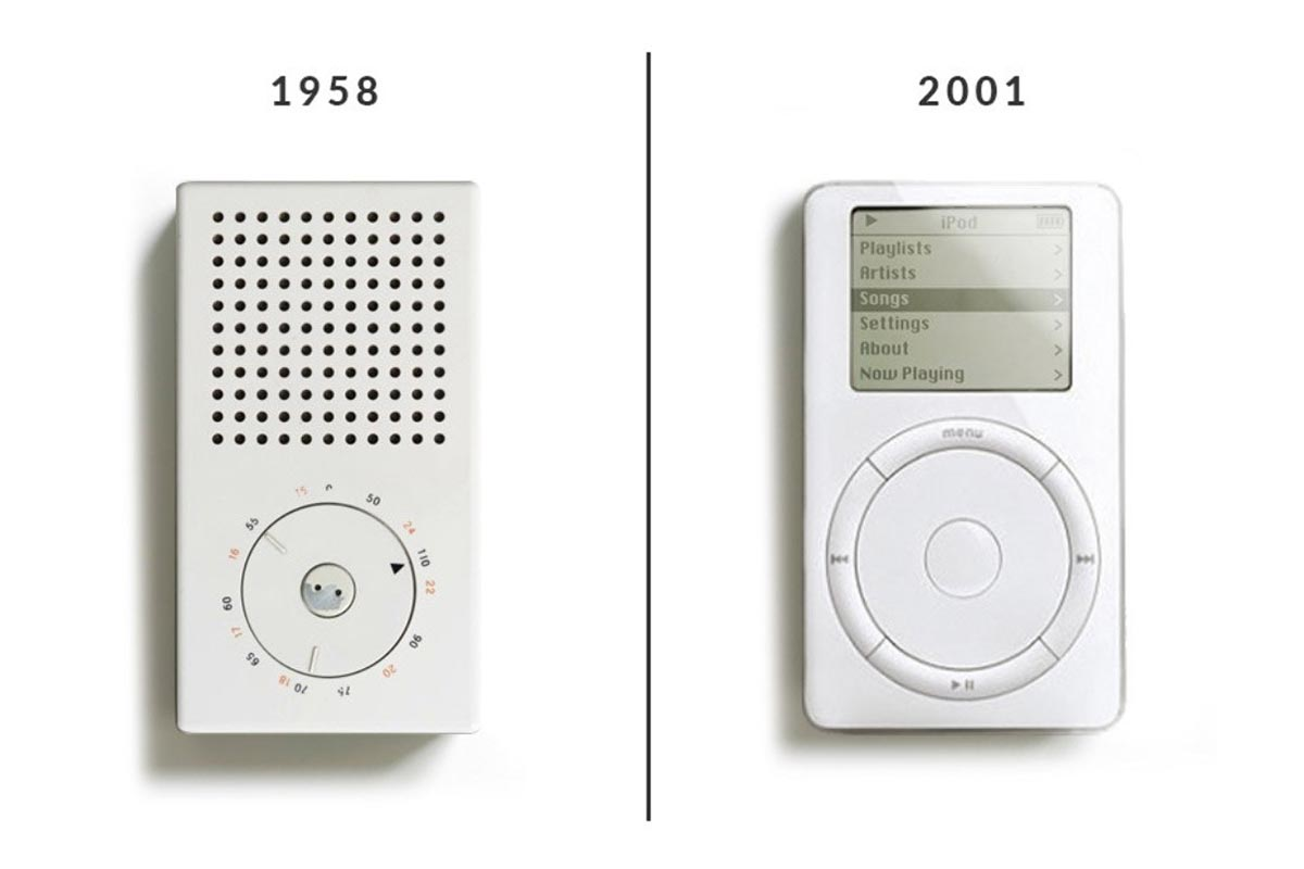 Dieter Rams Braun Apple Product Design iPod