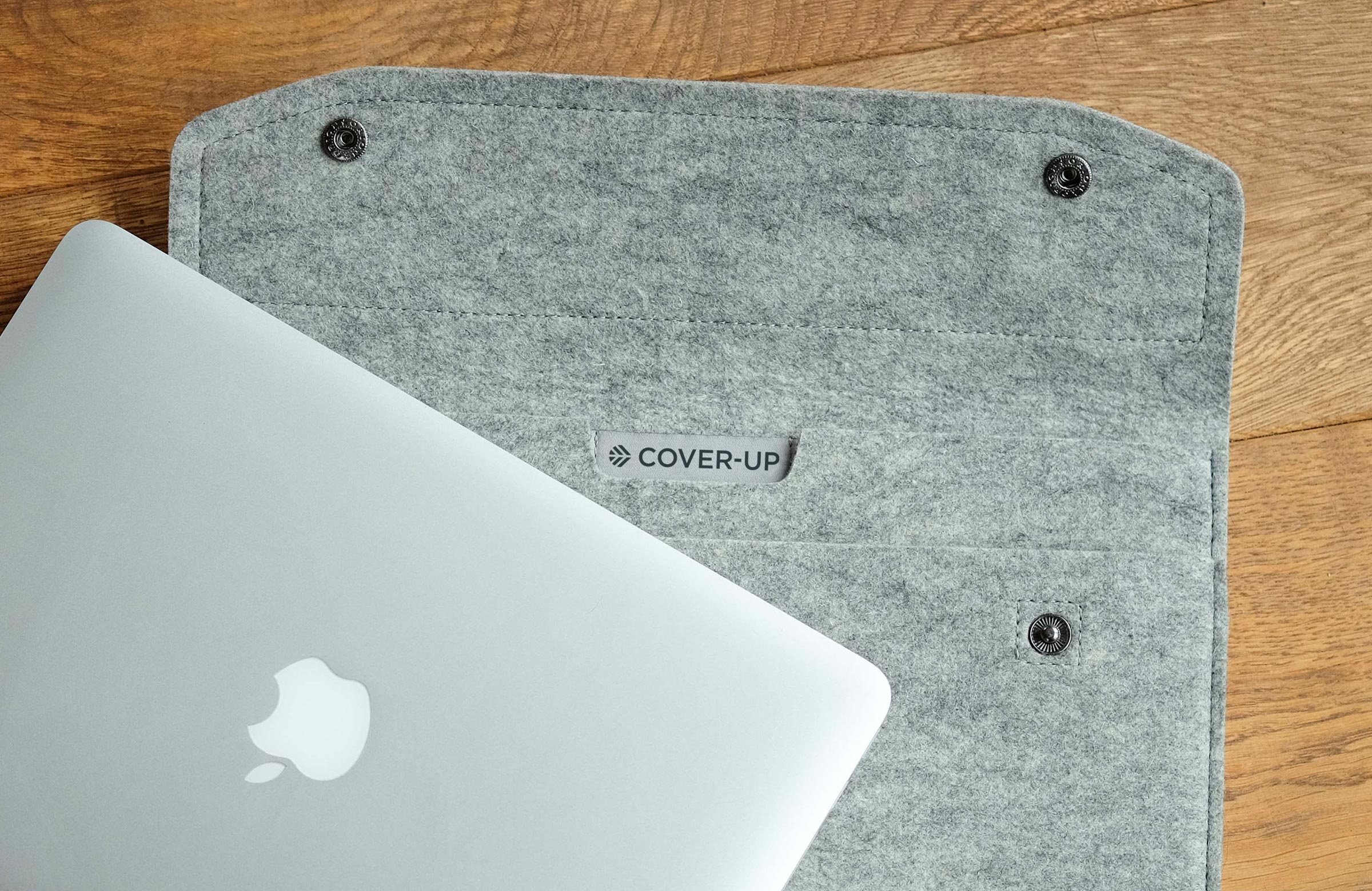 Cover-Up product Apple iMac Ipad Logo Branding Brand Design