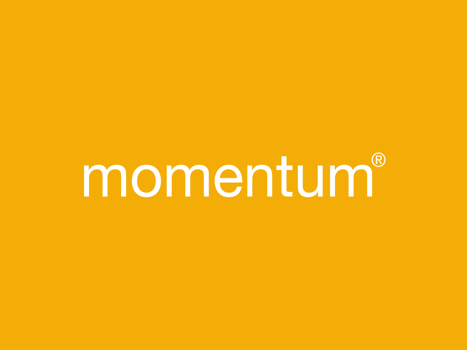 momentum furniture interior design brand brochure modern logo